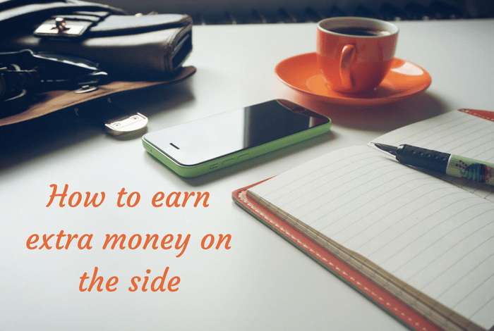 How to earn extra money on the side