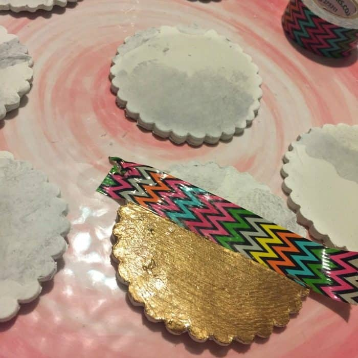 How to make DIY marble coasters