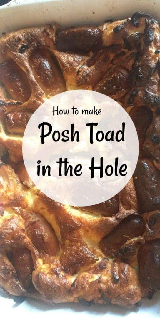 How to make Posh Toad in the Hole