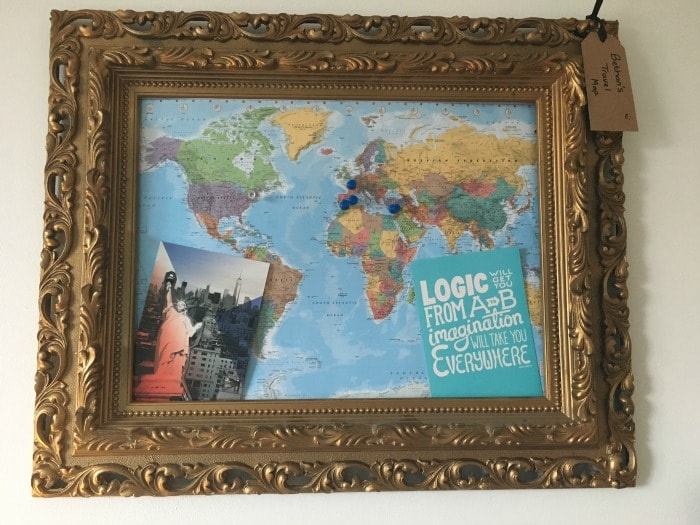 How to make a personalised family travel map