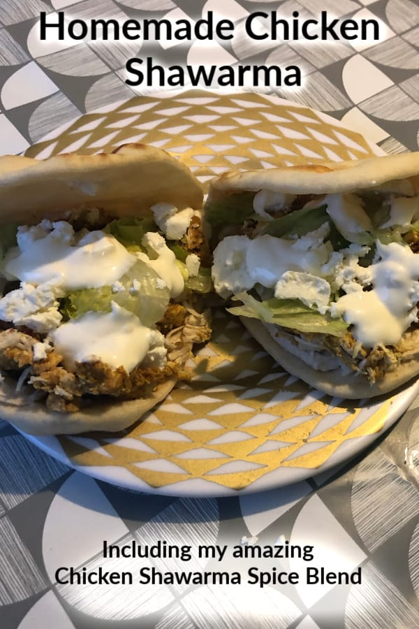 Instant Pot #Fakeaway Slimming World Chicken Shawarma {Including my special  Chicken Shawarma Spice