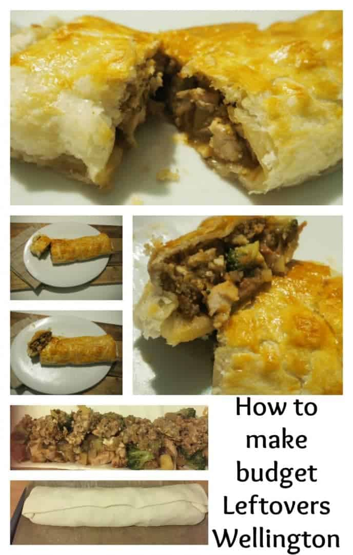 How to make budget Leftovers Wellington