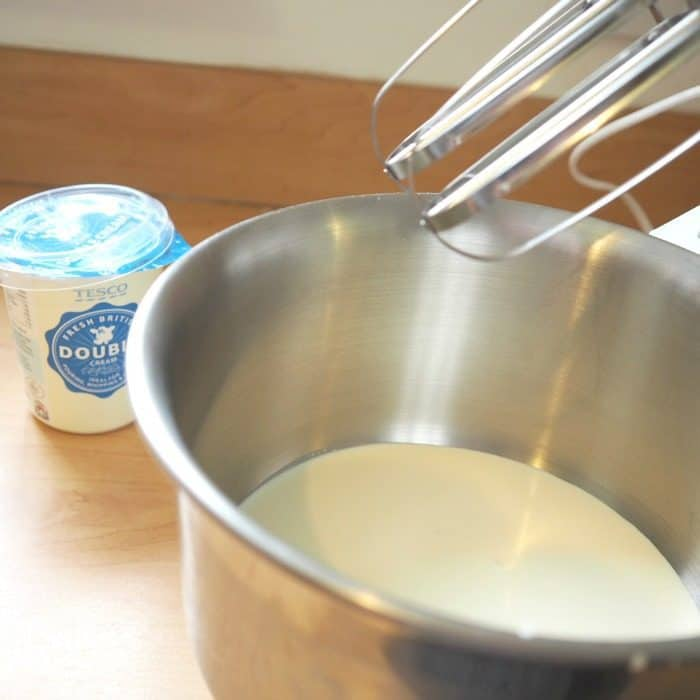 How to make butter from cream