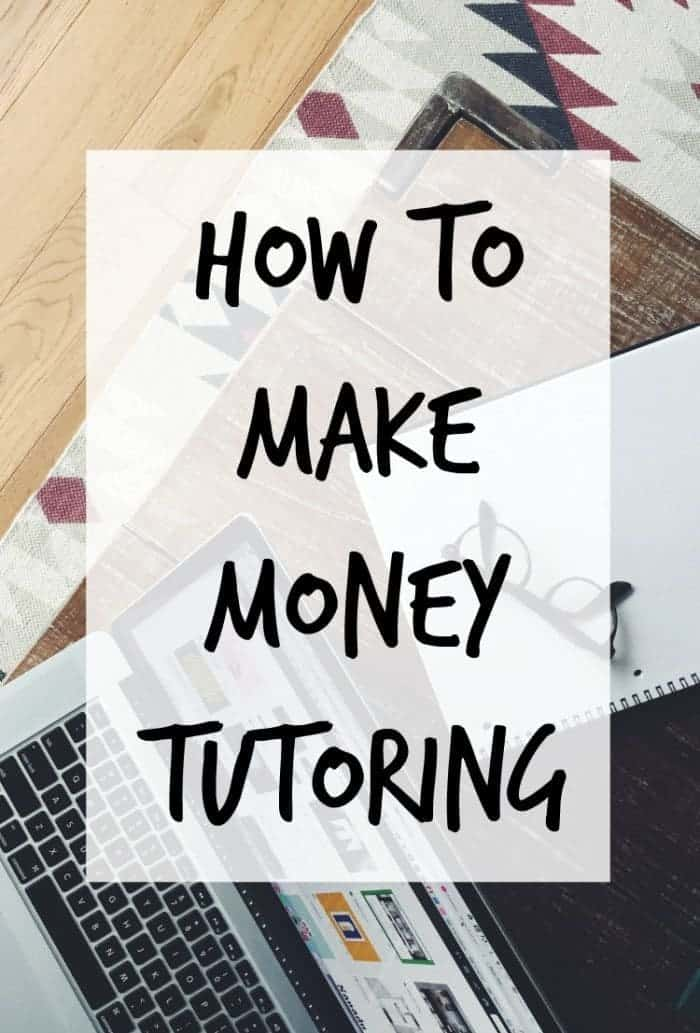 How to make money tutoring. Being a tutor is a great way to earn some extra money. FInd out how much you could earn and how to go about becoming a tutor