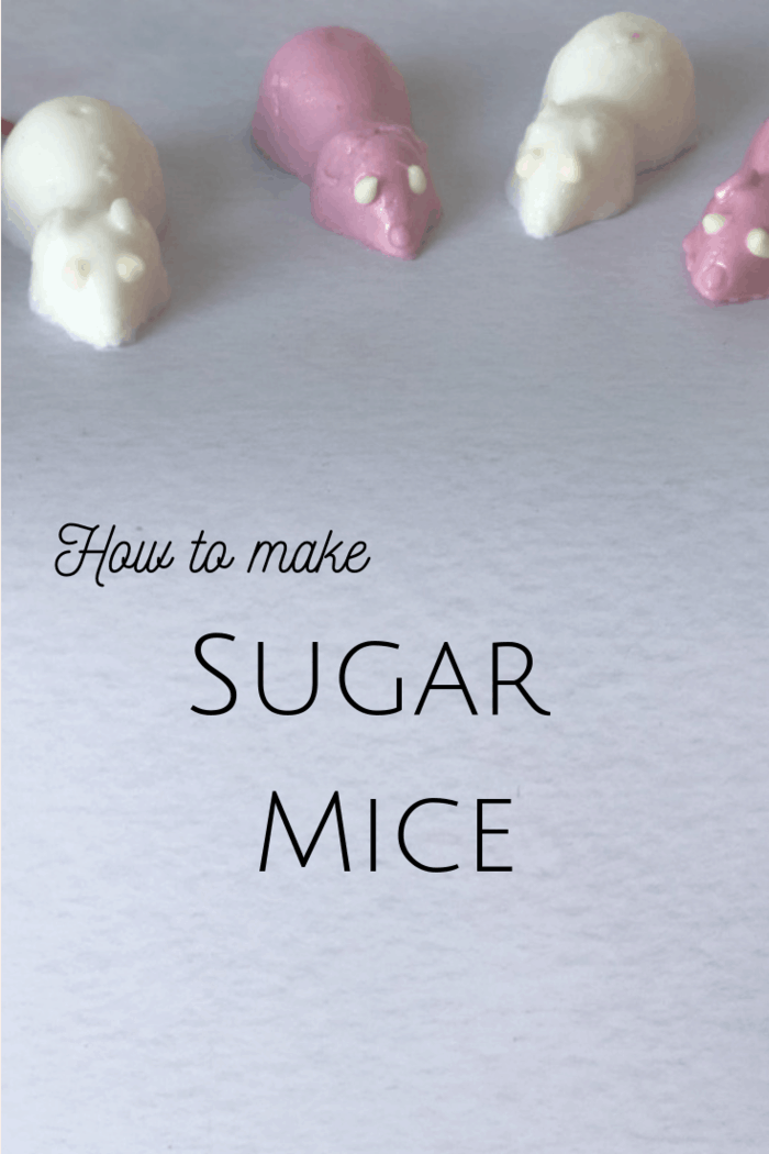 How to make sugar mice! These super cute little guys are easy to make and guaranteed to remind you of your childhood! #sweettreats #sugarmice #DIYsweets #childhoodmemories