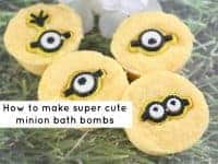 Super cute Minion Bath Bombs....