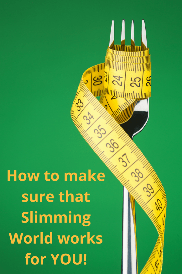 How to make sure Slimming World works for you!