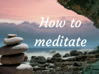 How to meditate {Includes a Free Step by Step Printable Guide}....