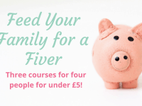 Feed your Family for a Fiver....