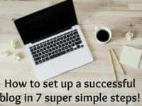 How to start a blog of your own in 7 super simple steps....