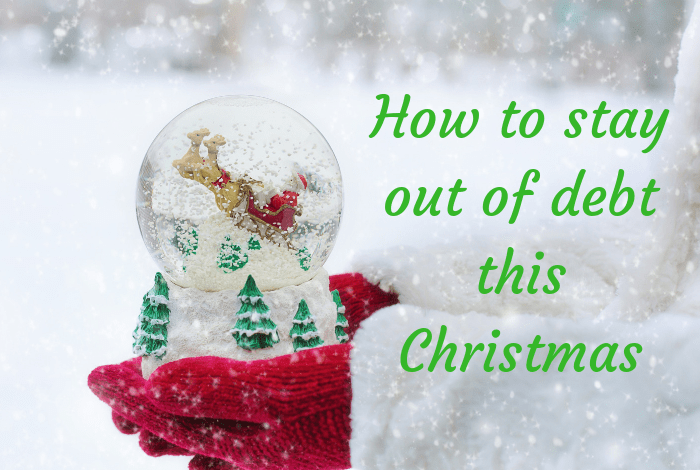 How to stay out of debt this Christmas