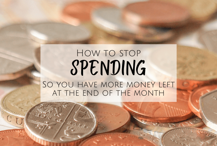 How to Stop Spending