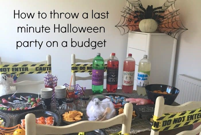 How to throw a last minute Halloween party on a budget
