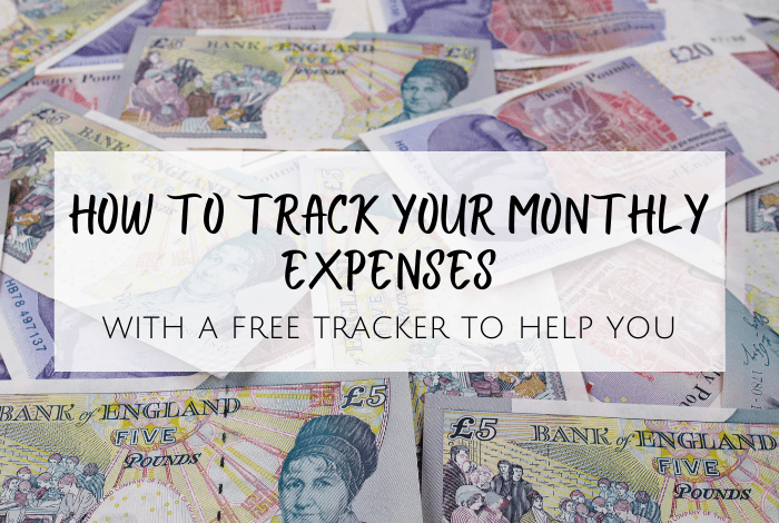 track your monthly expenses
