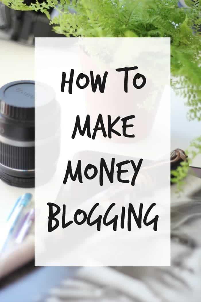 How to.... Make Money Blogging