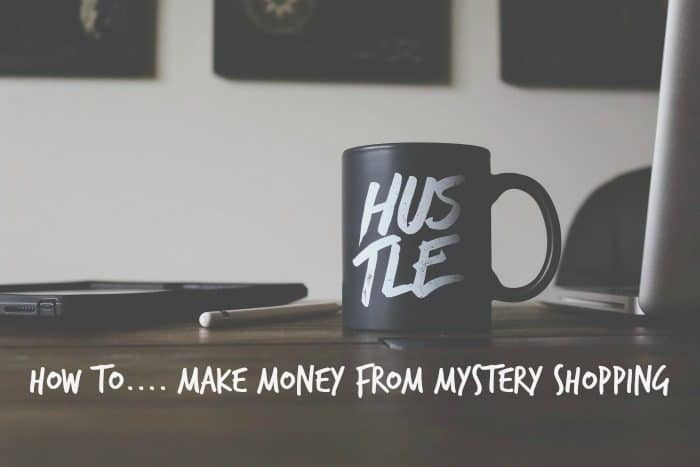 How to make money from Mystery Shopping
