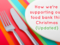 Helping our food bank this Christmas - the update....