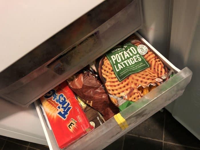 How I organise my freezer