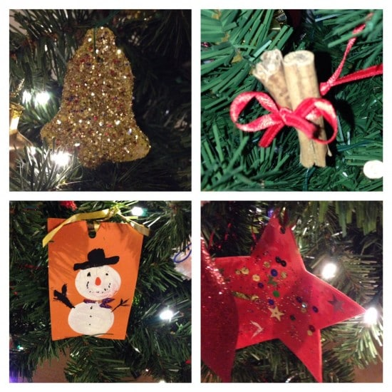 36 Simple homemade ornaments for kids....