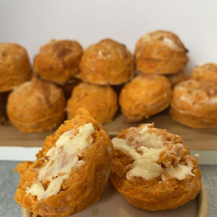 Cheese and Tomato Scone Recipe....