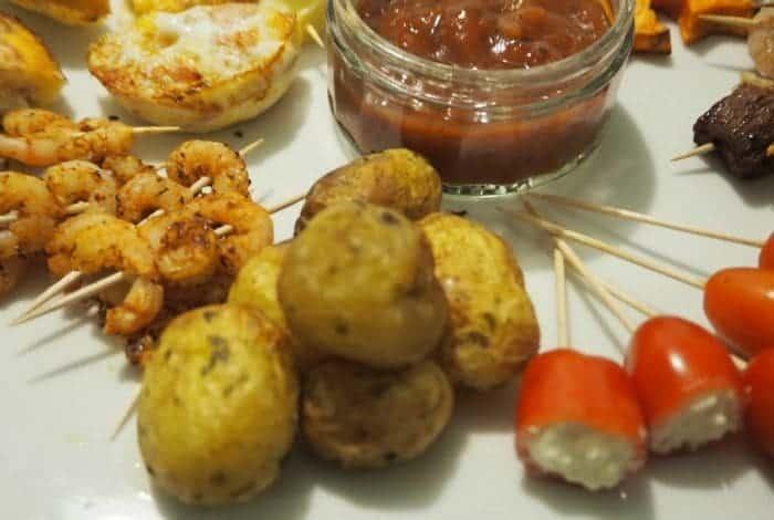 twice cooked potatoes