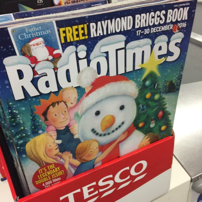 We saved £4.50 by not buying the Radio Times this Christmas!