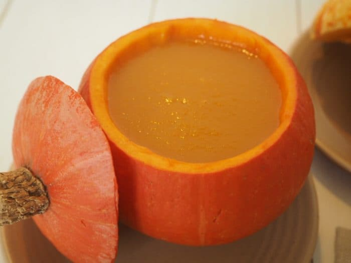 Spiced root vegetable soup