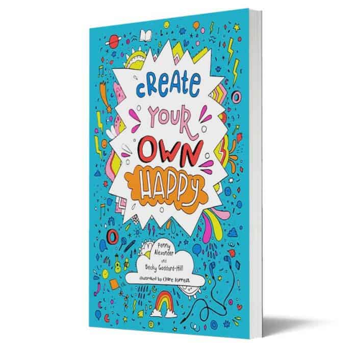 Create your own happy book cover