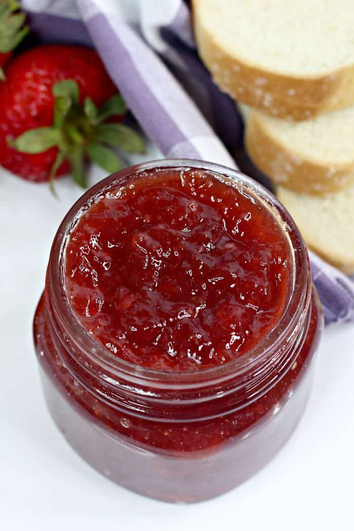 Instant Pot Strawberry and Orange Jam