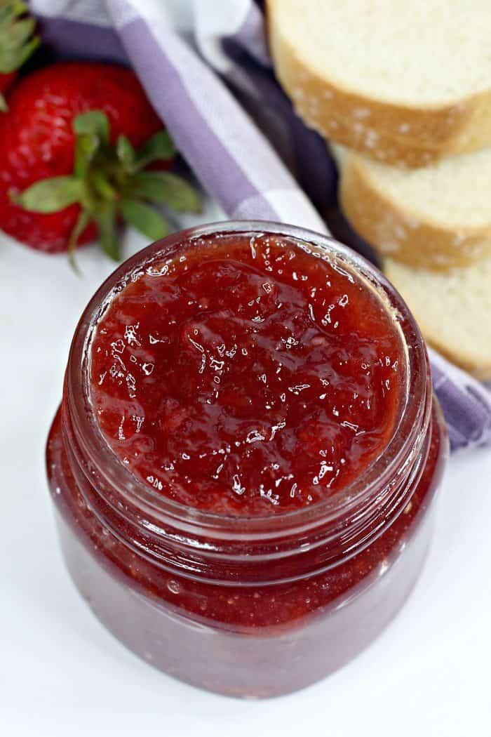 Instant Pot Strawberry and Orange Jam