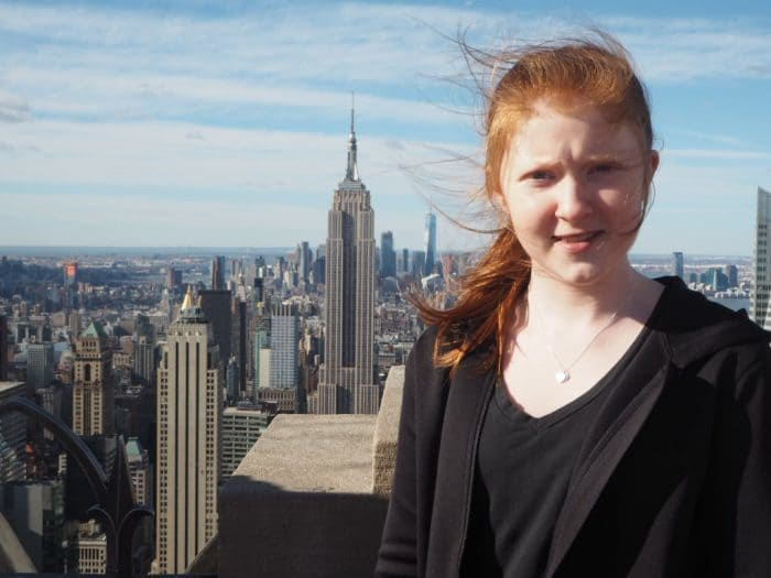 Visiting the Top of the Rock, New York