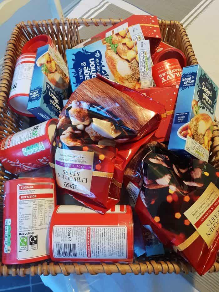 Christmas food hamper so far