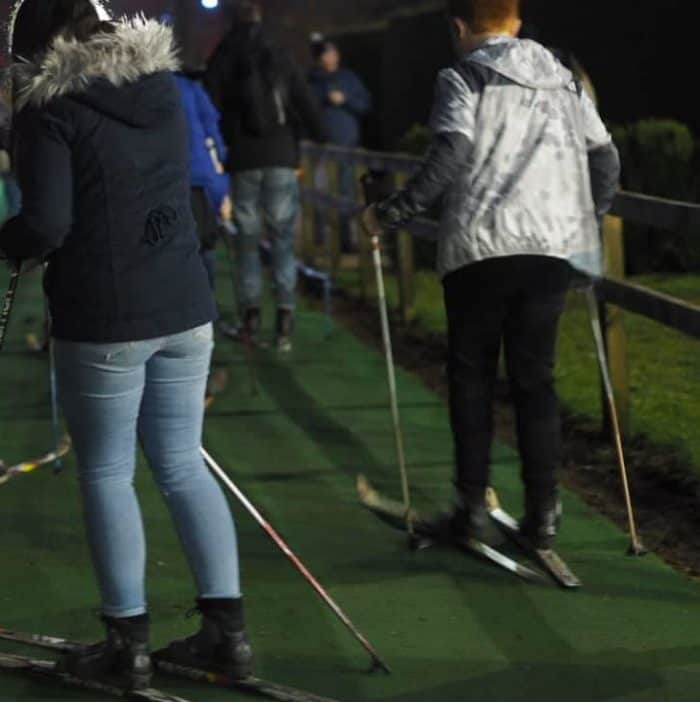 Nordic Ski at Stockeld Park Christmas Adventure