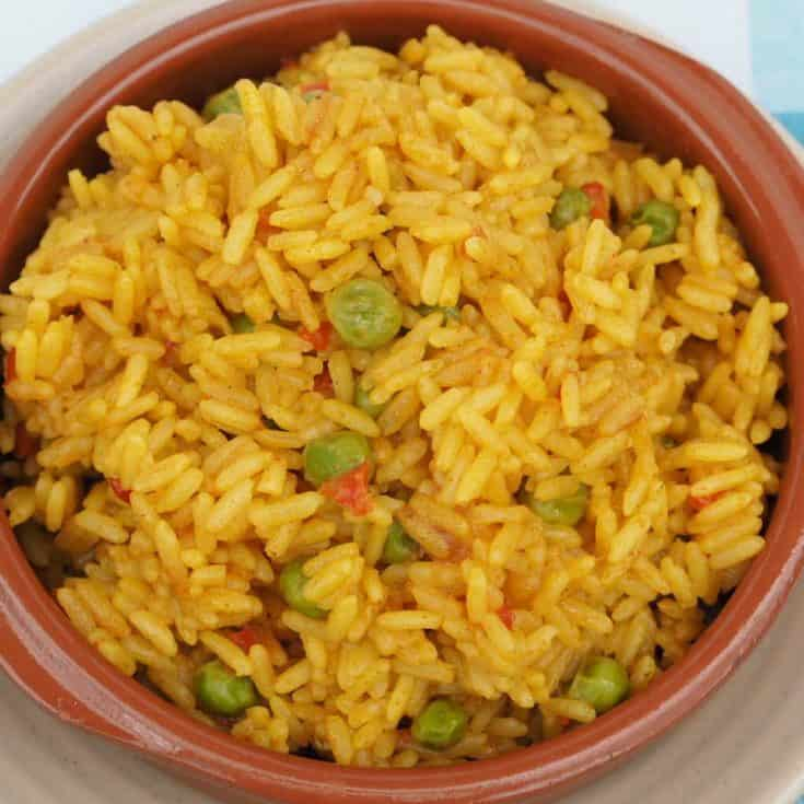 Homemade Nandos spicy rice recipe….