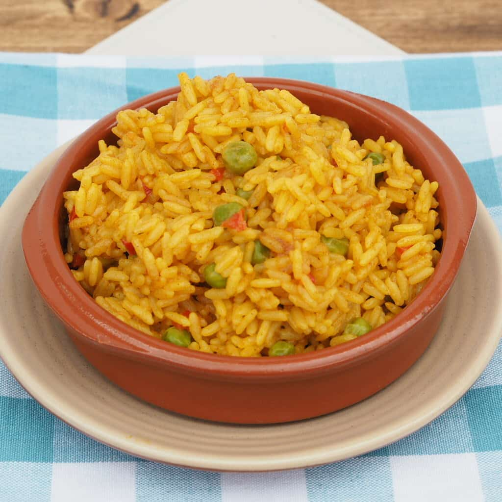 A bowl of mixed rice