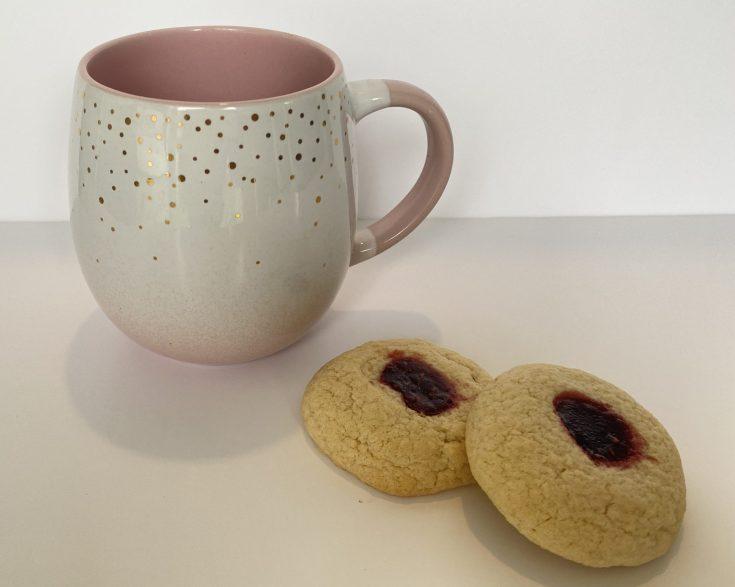 Jammy Thumbprint cookies