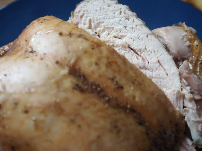 slow cooker roast chicken