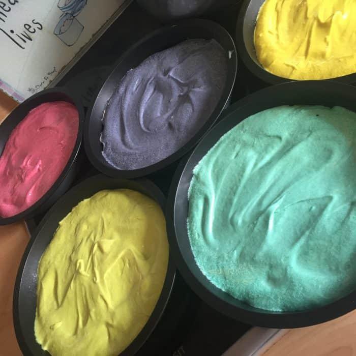 How to make homemade rainbow layer cake