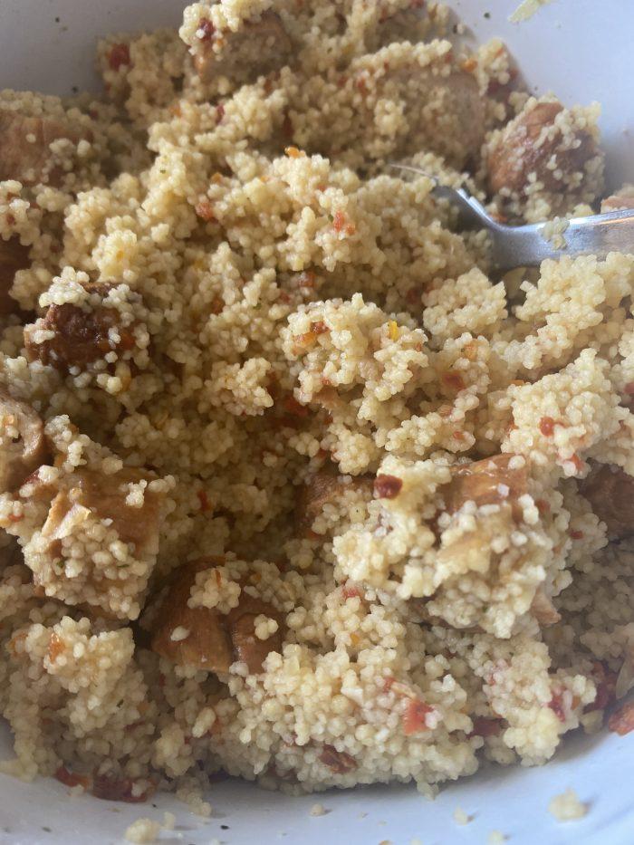 Couscous lunch