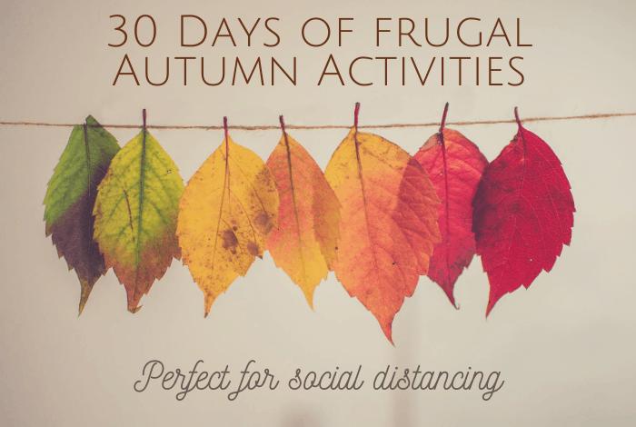 30 Days of Autumn Activities