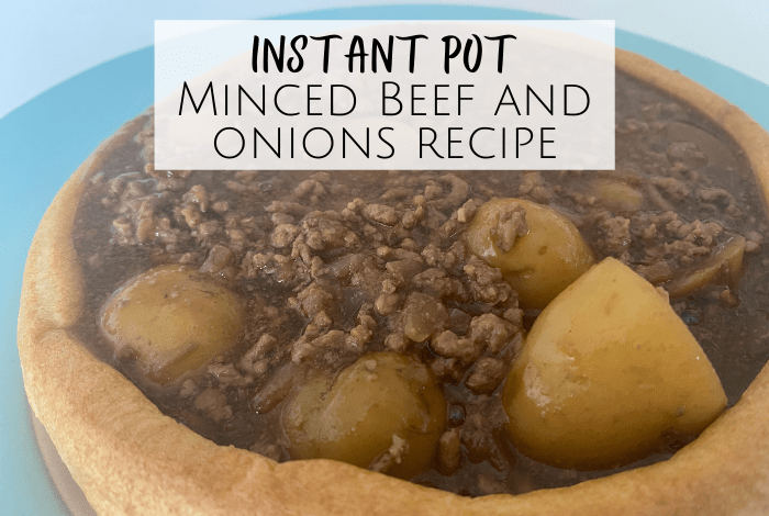 Instant Pot Minced Beef and onions recipe