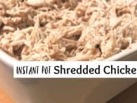 Instant Pot Shredded Chicken....