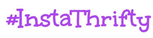 #InstaThrifty