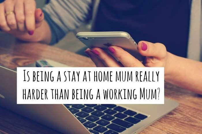 Is being a stay at home mum really harder than being a working Mum?