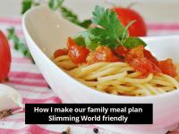 #MealPlanningMonday - How I make my family's meal plan Slimming World friendly....