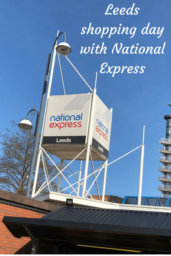 Leeds shopping day with National Express