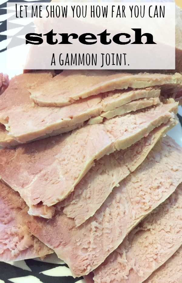 Let me show you just how far you can stretch a gammon joint....