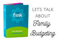 Let's Talk about Family Budgeting {the launch our new 'thing'}....