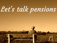 Let's talk pensions....