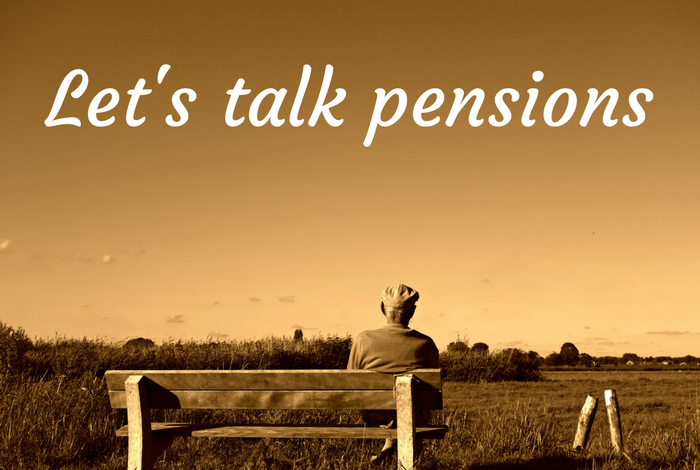 Let's talk pensions....
